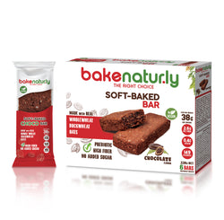 Bake Naturly Chocolate Soft-Baked Breakfast & Healthy Bar