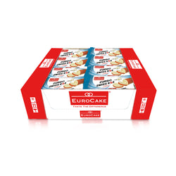 Eurocake Jumbo Swiss Roll Vanilla 24pc Tray