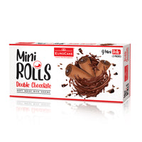 Eurocake Mini Rolls Double Chocolate