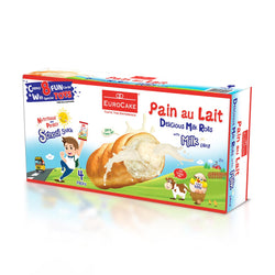 Eurocake Pain au Lait with Milk Filling 4pc Box
