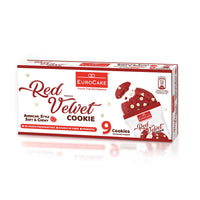 Eurocake Soft and Chewy Red Velvet Cookie 9pc Box