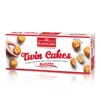 Eurocake Twin Cakes Banana 6pc Box