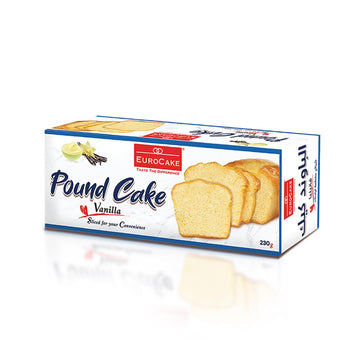 Vanilla Sliced Pound Cake