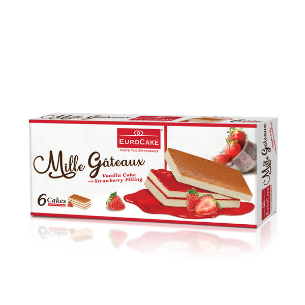 Eurocake Mille Gateaux Strawberry