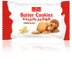 Eurocake Butter Cookies 6pc Tray (Single Pack)