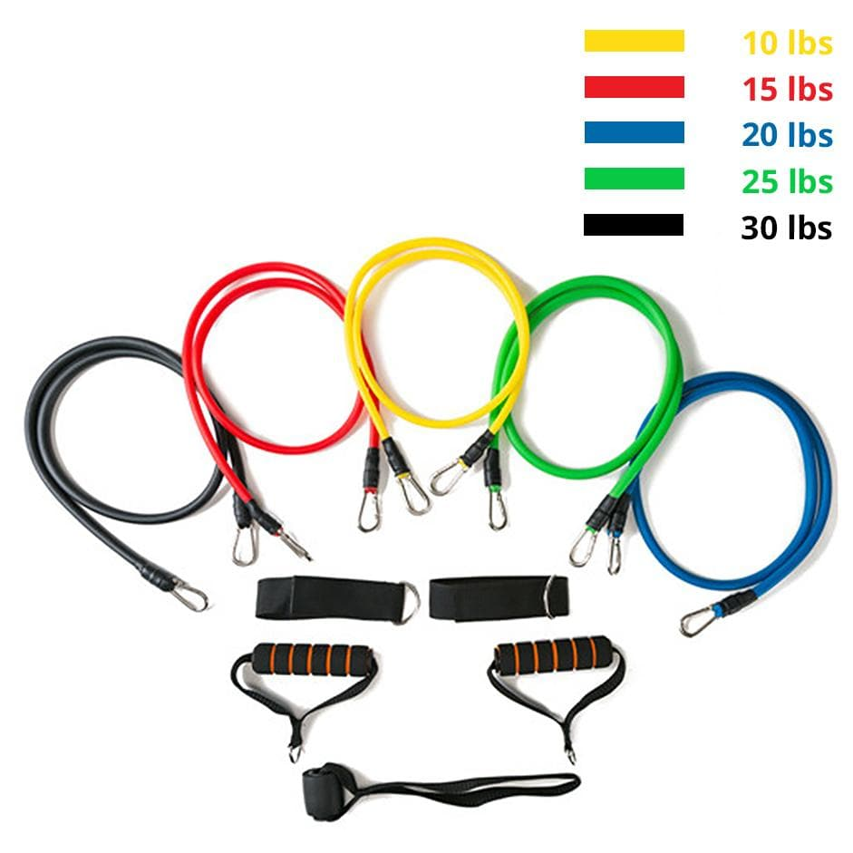 11 Piece Premium Resistance Band Set