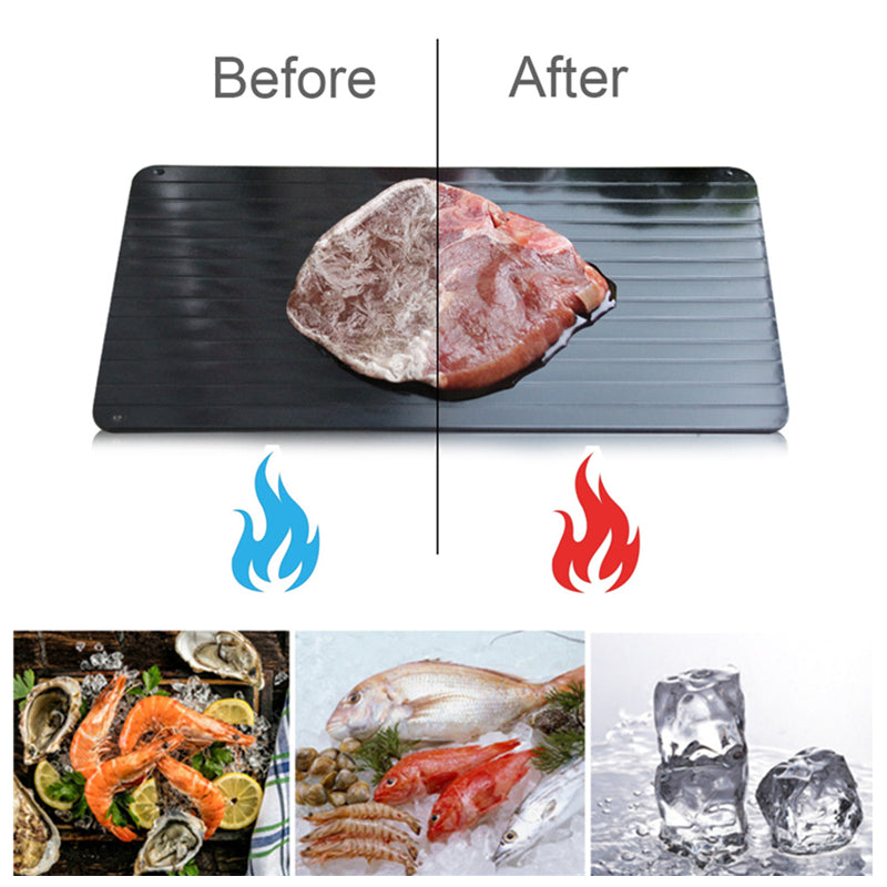 Turbo Defrosting Tray: Thaw Food Fast!