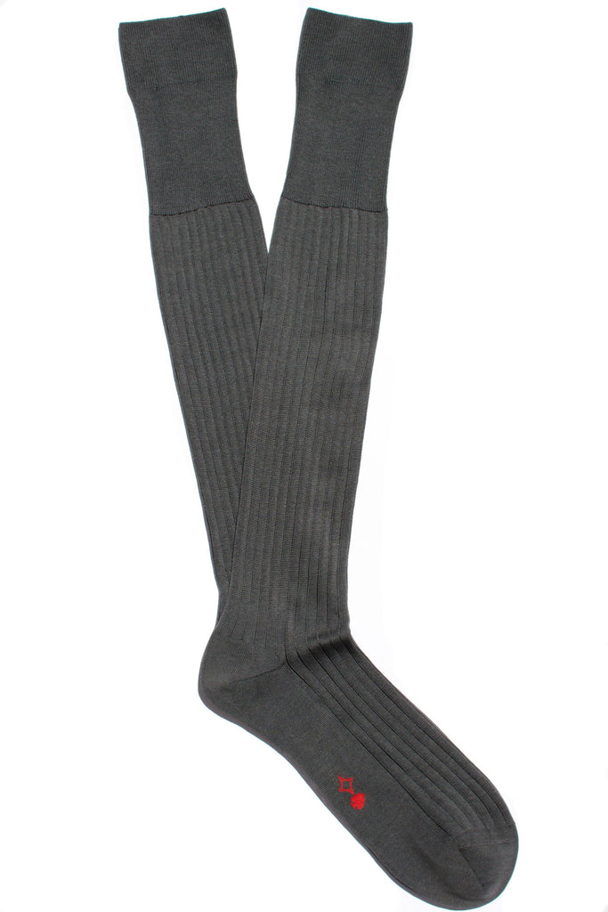 004 - Steel Grey Long Ribbed