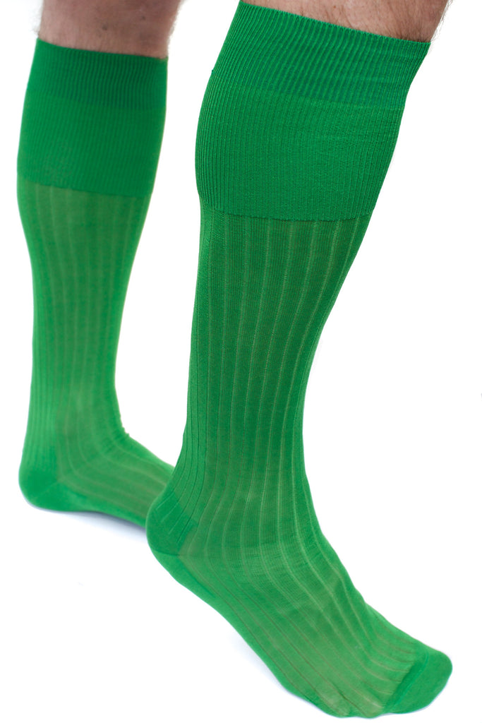 004 - Apple Green Long Ribbed