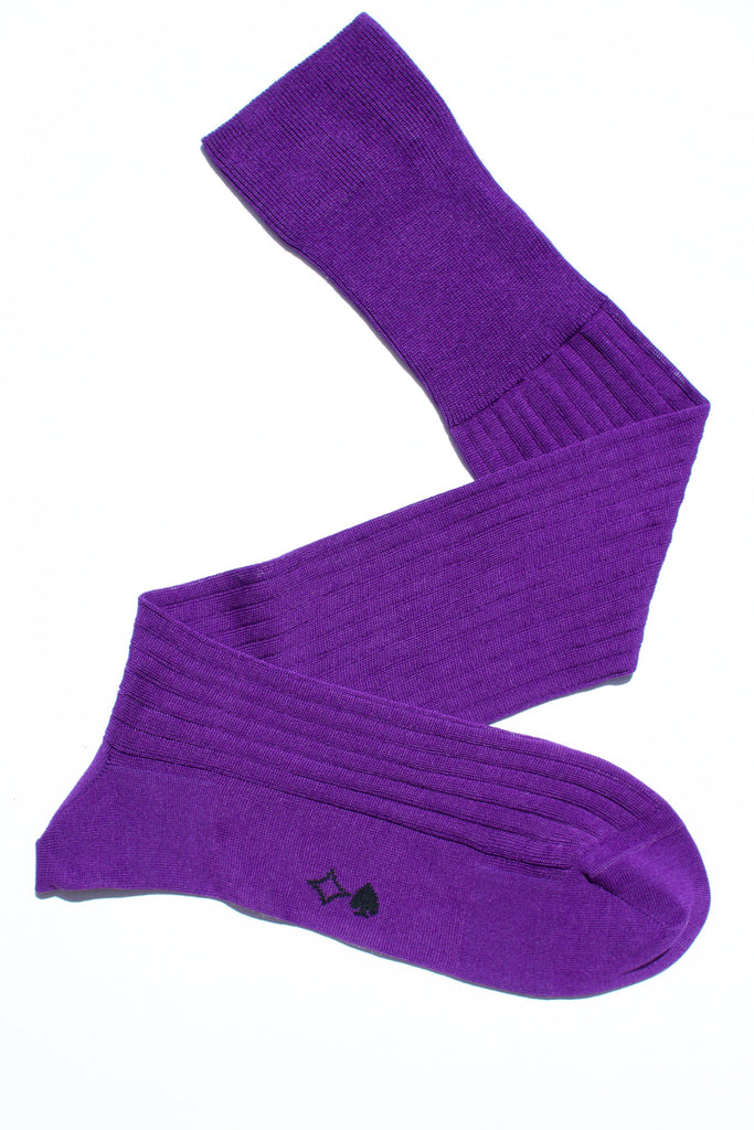 004 - Purple Long Ribbed