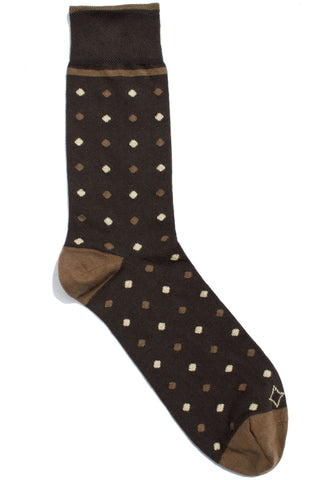 001 - Brown Polkadots