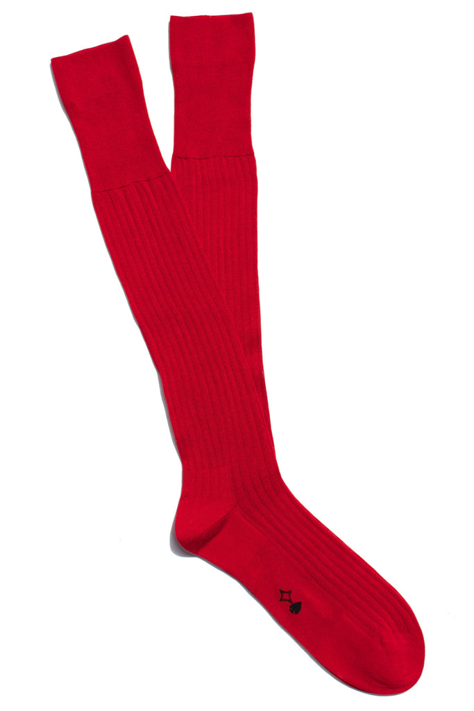 004 - Red Long Ribbed