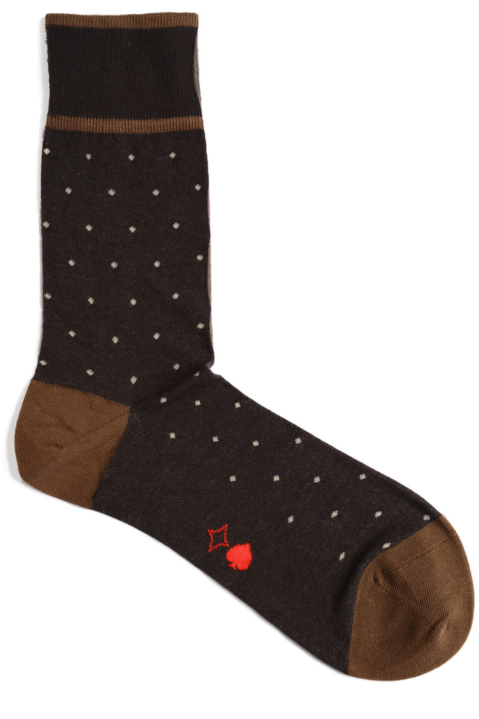 "*NEW* Cappuccino ""Threadless"" Polkadots"