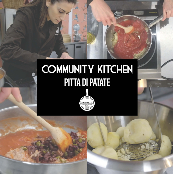 Learn How To Make Pitta di Patate from Puglia (Italy) With Cristina.