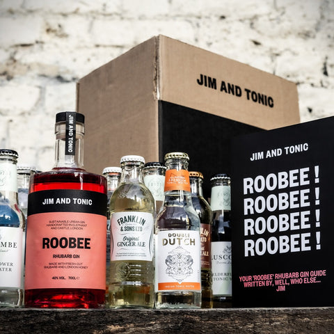 Jim and Tonic - Pink Gin Gift Set 'Roobee'