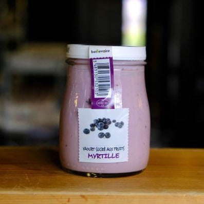 Yogurt a l'Ancienne Fruits Myrtille by Beillevaire