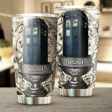 Load image into Gallery viewer, Tardis Tumbler