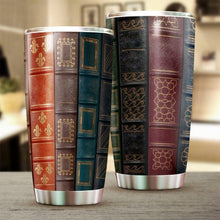 Load image into Gallery viewer, Vintage Book Tumbler Cup