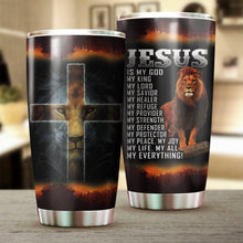 Load image into Gallery viewer, Jesus is My God Tumbler