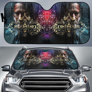 Open image in slideshow, John Wick Continental In Out Car Seat Auto Sun Shades