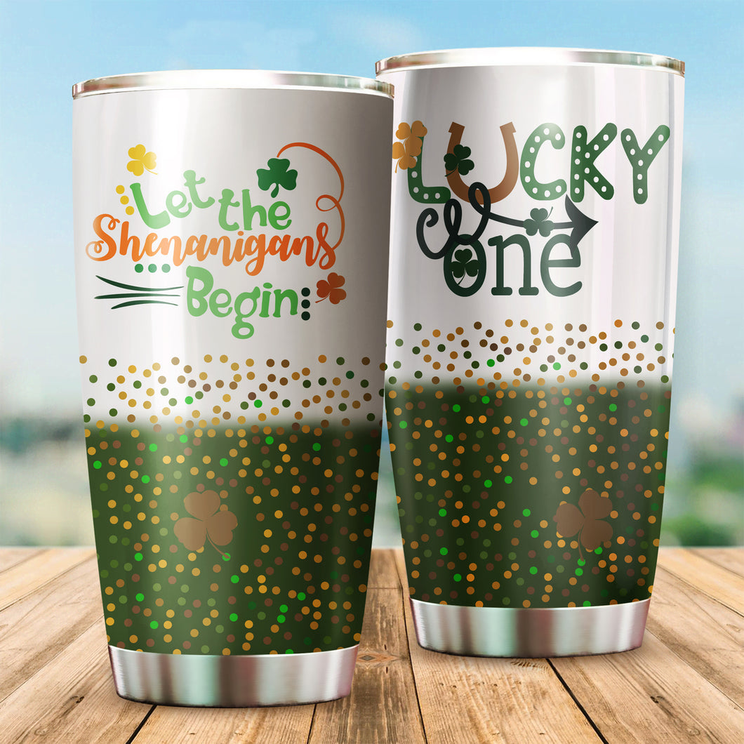 Let the Shenanigans begin Tumbler Cups