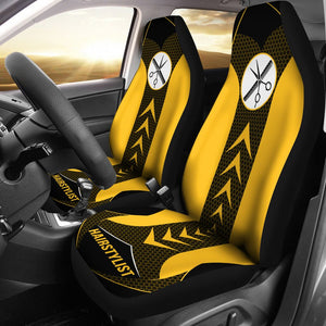 Open image in slideshow, Hairstylist Start Arrow - Car Seat Car Seat Covers