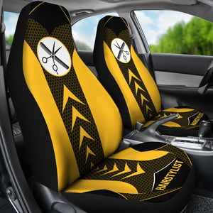 Hairstylist Start Arrow - Car Seat Car Seat Covers