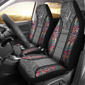 Open image in slideshow, Hairstylist Mandala Seat Covers Car Seat Covers
