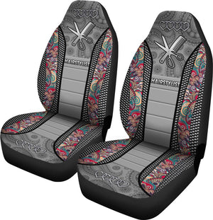 Hairstylist Mandala Seat Covers Car Seat Covers
