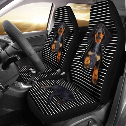 Dachshund Seat Car Seat Covers