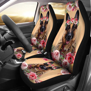 Open image in slideshow, Beautiful Seat Covers For German Shepherd Lovers Car Seat Covers
