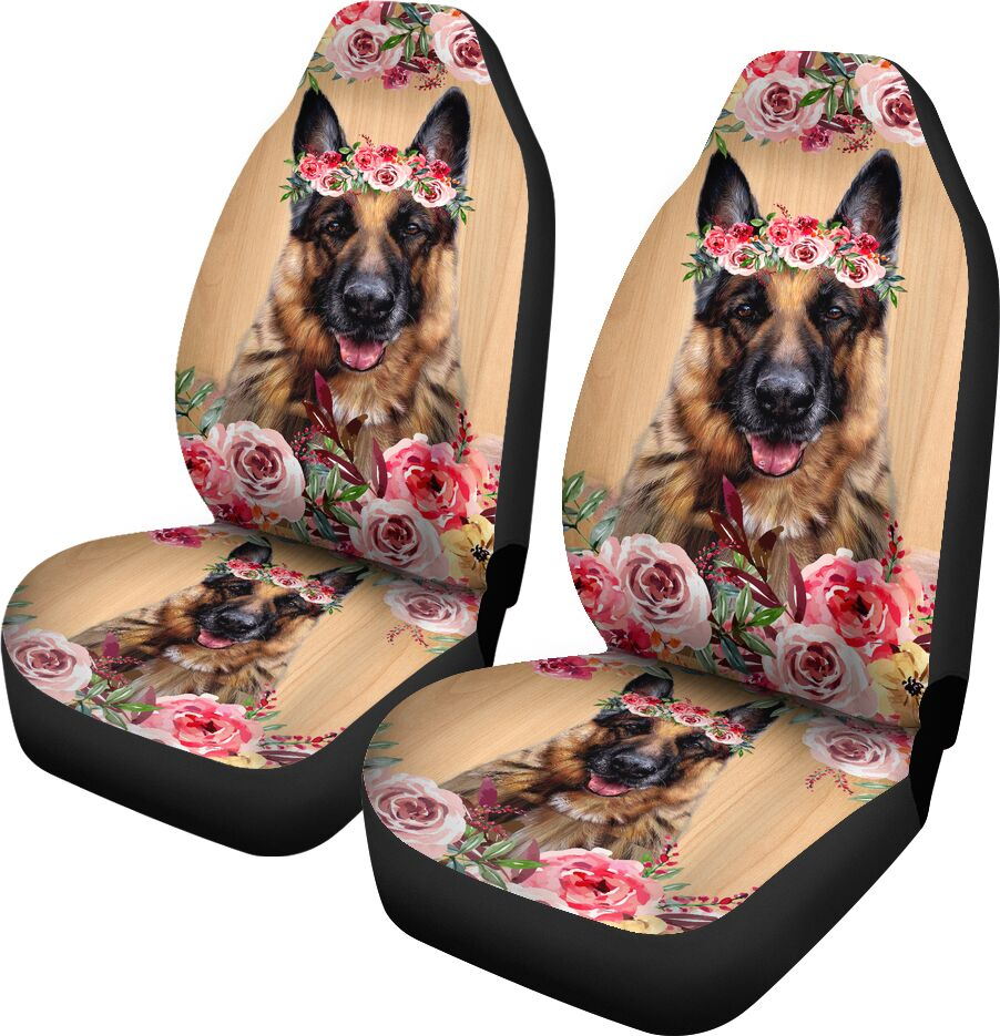 Beautiful Seat Covers For German Shepherd Lovers Car Seat Covers