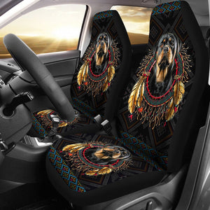 Open image in slideshow, Awesome Seat Covers For Rottweiler Lovers Car Seat Covers