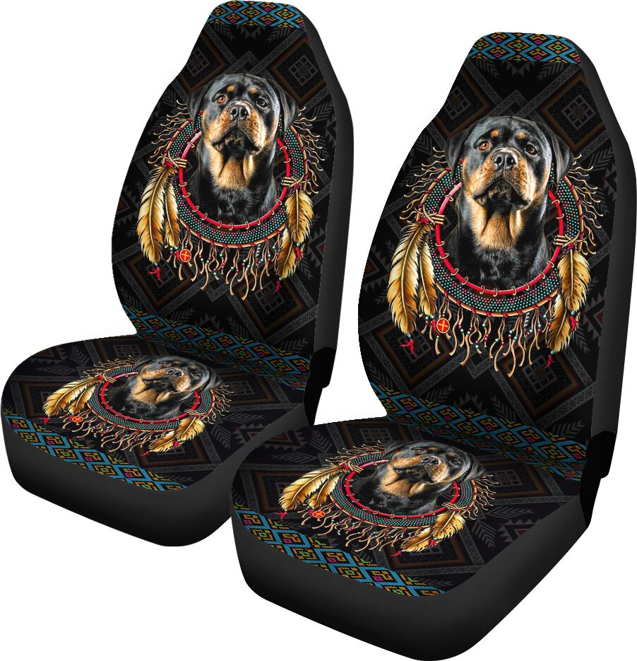 Awesome Seat Covers For Rottweiler Lovers Car Seat Covers