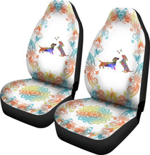 Load image into Gallery viewer, Dachshund Watercolor Seat Car - Ds01 Car Seat Covers