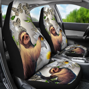 Sloth Beautiful Seat Covers Car Seat Covers