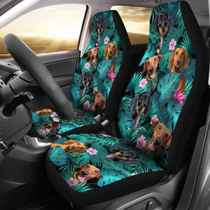 Open image in slideshow, Dachshund - Seat Covers Exotic [07-D] Car Seat Covers