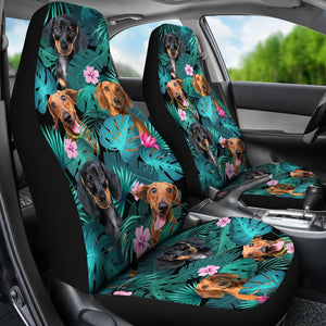 Dachshund - Seat Covers Exotic [07-D] Car Seat Covers