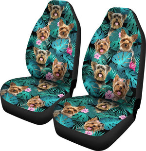 Yorkshire Terrier - Seat Covers Exotic [07-D] Car Seat Covers