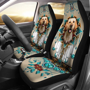 Open image in slideshow, Labrador - Seat Covers Native [07-B] Car Seat Covers