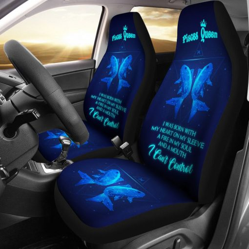 Pisces Queen - Seat Covers Car Seat Covers