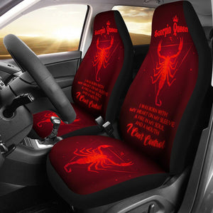 Scorpio Queen - Seat Covers Car Seat Covers