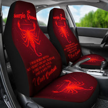Load image into Gallery viewer, Scorpio Queen - Seat Covers Car Seat Covers