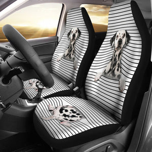 Open image in slideshow, Dalmatian - Seat Covers White Version Car Seat Covers