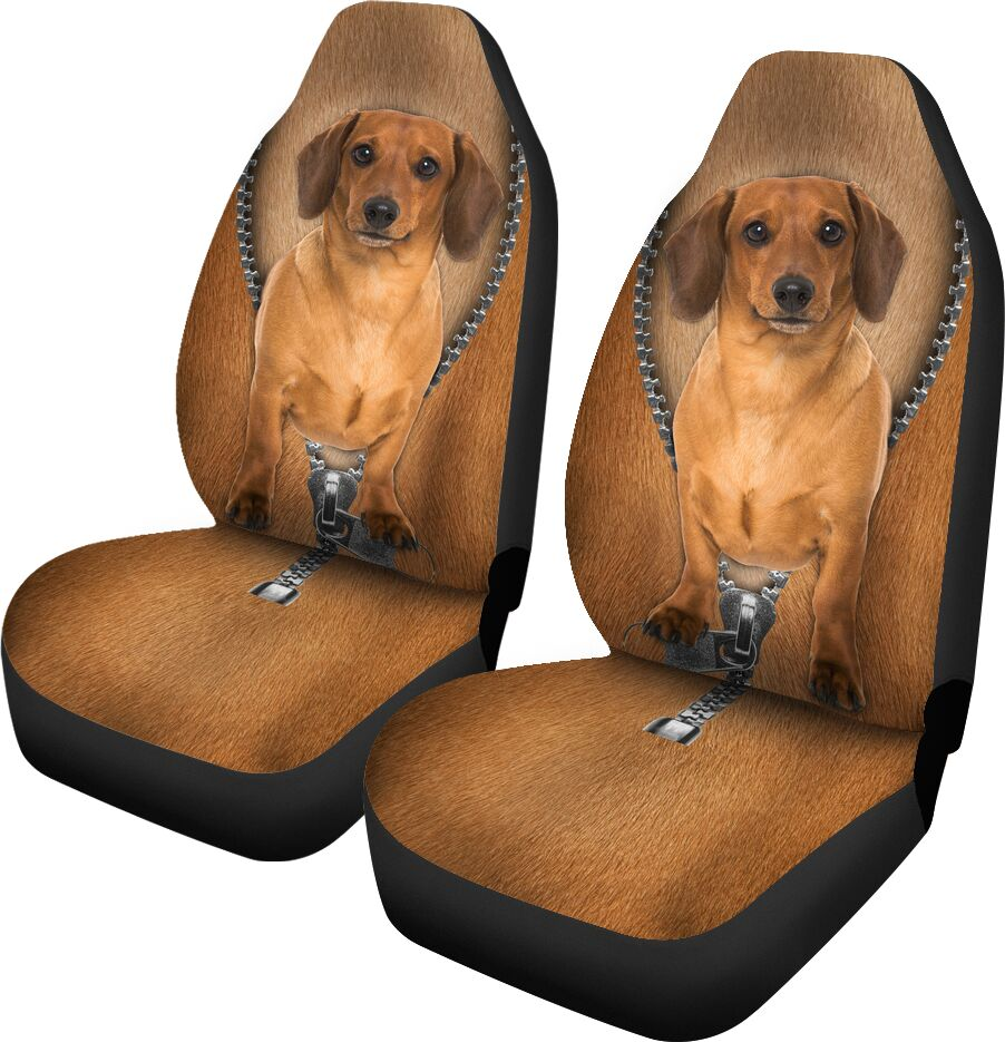 Dachshund Seat Covers Car Seat Covers