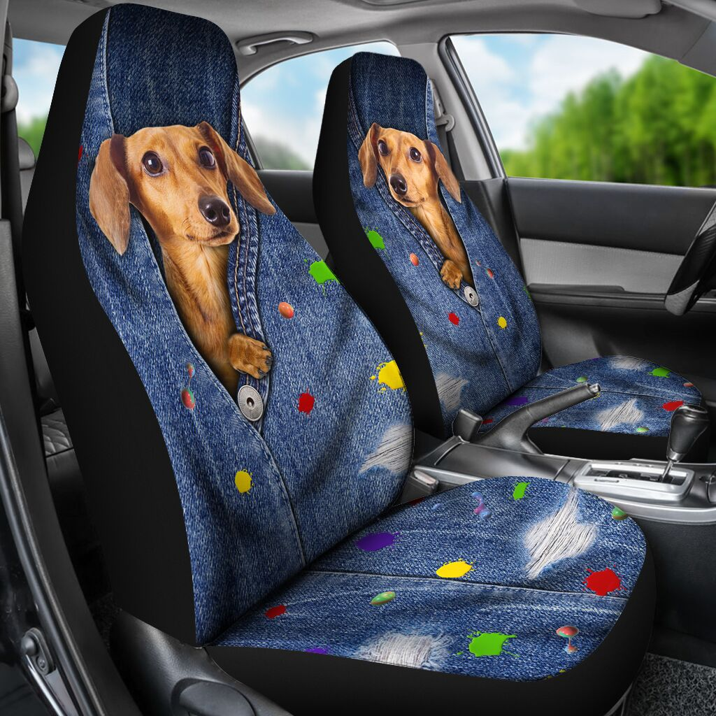 Dachshund Seat Cover Car Seat Covers