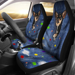 Open image in slideshow, Chihuahua Seat Cover Car Seat Covers