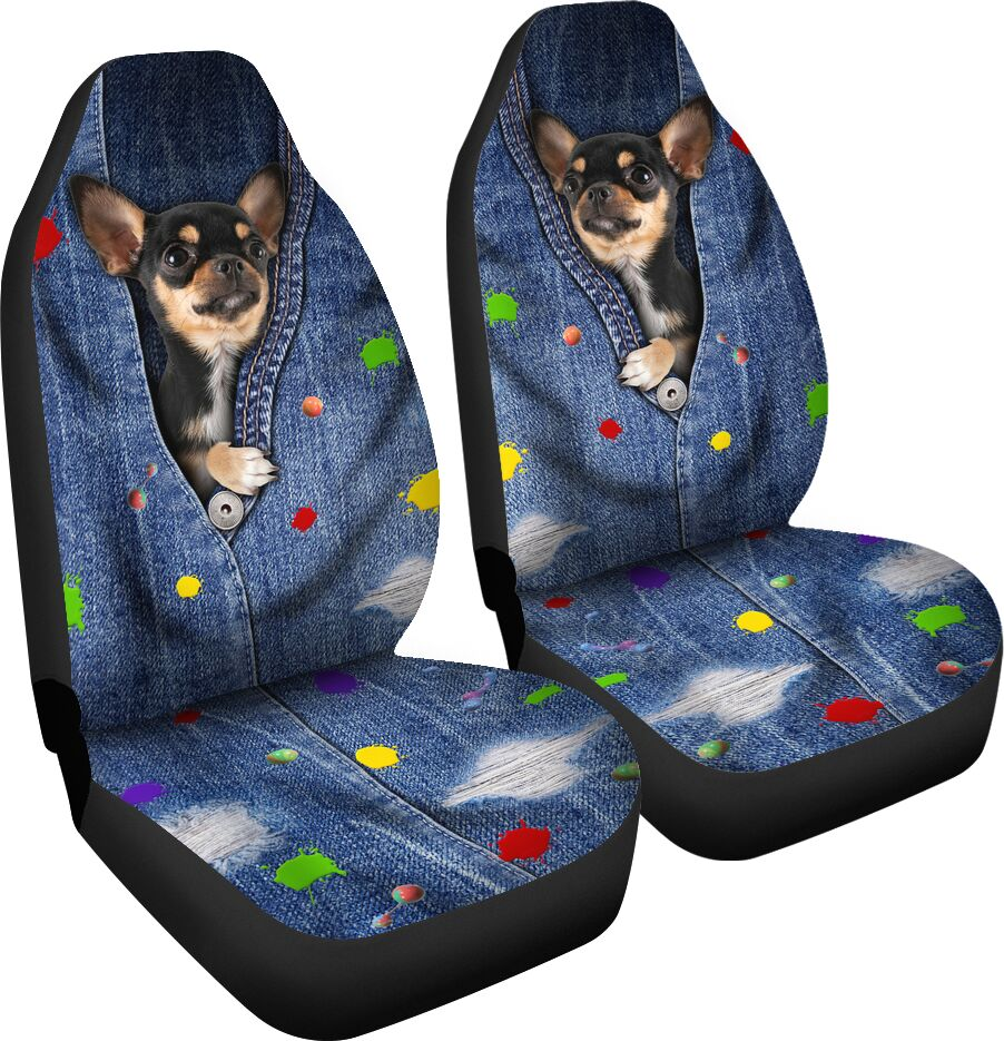 Chihuahua Seat Cover Car Seat Covers