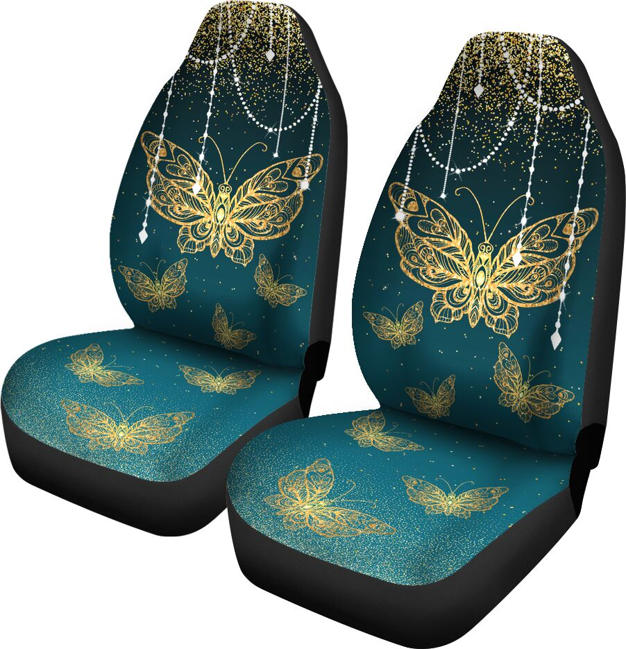 Decorative Gold Butterfly - Car Seat Car Seat Covers