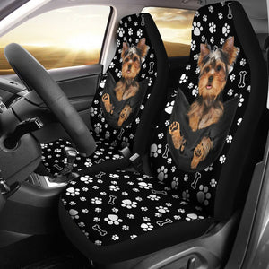 Open image in slideshow, Ttn 10 Yorkshire In Pocket Seat Covers Car Seat Covers